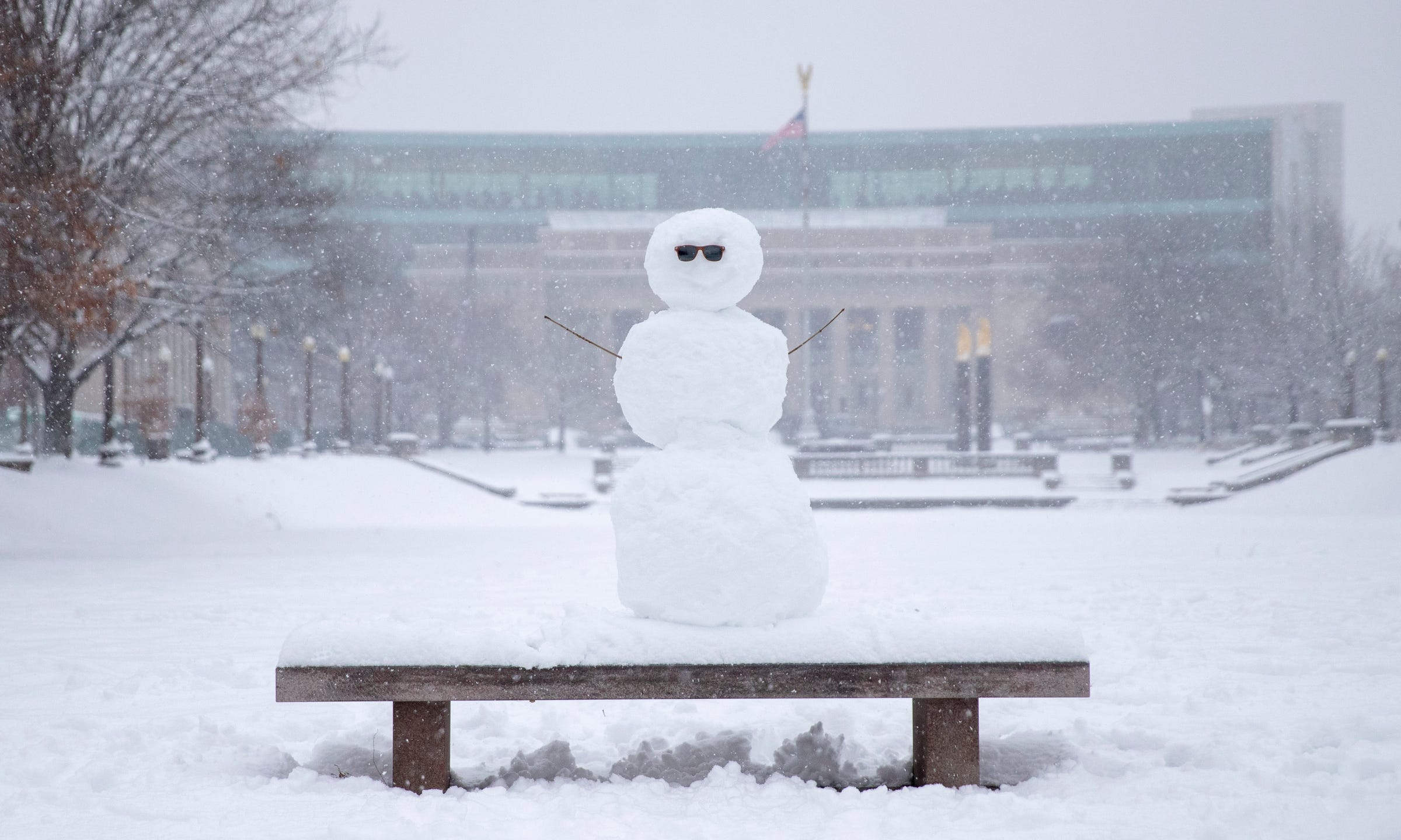 Indianapolis Indiana Winter
