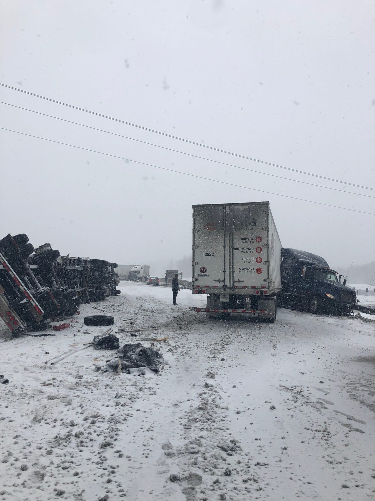 Indianapolis weather: 100 crashes reported in Central Indiana after