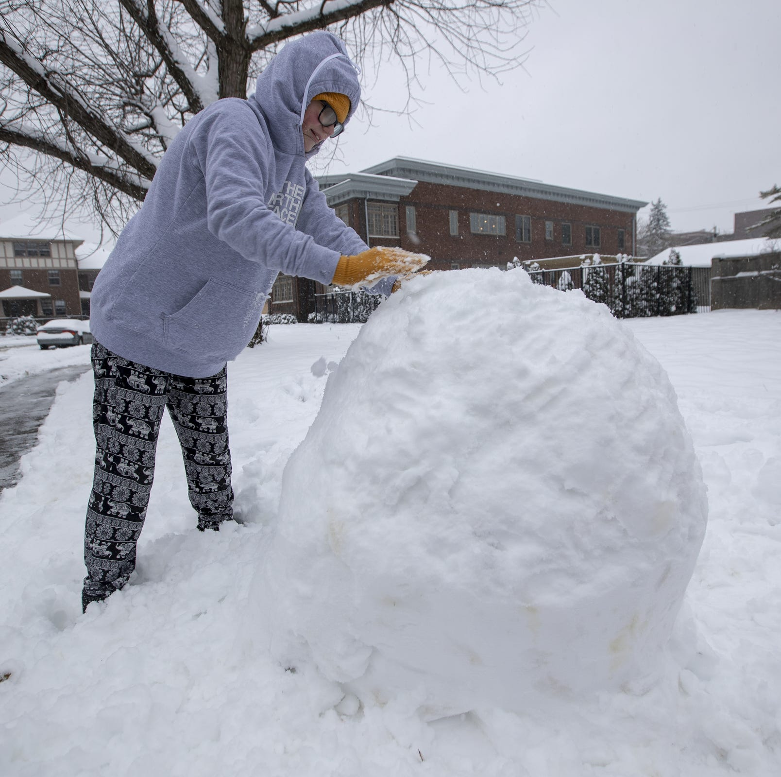 After 7 inches of snow, another storm could be headed to Indianapolis