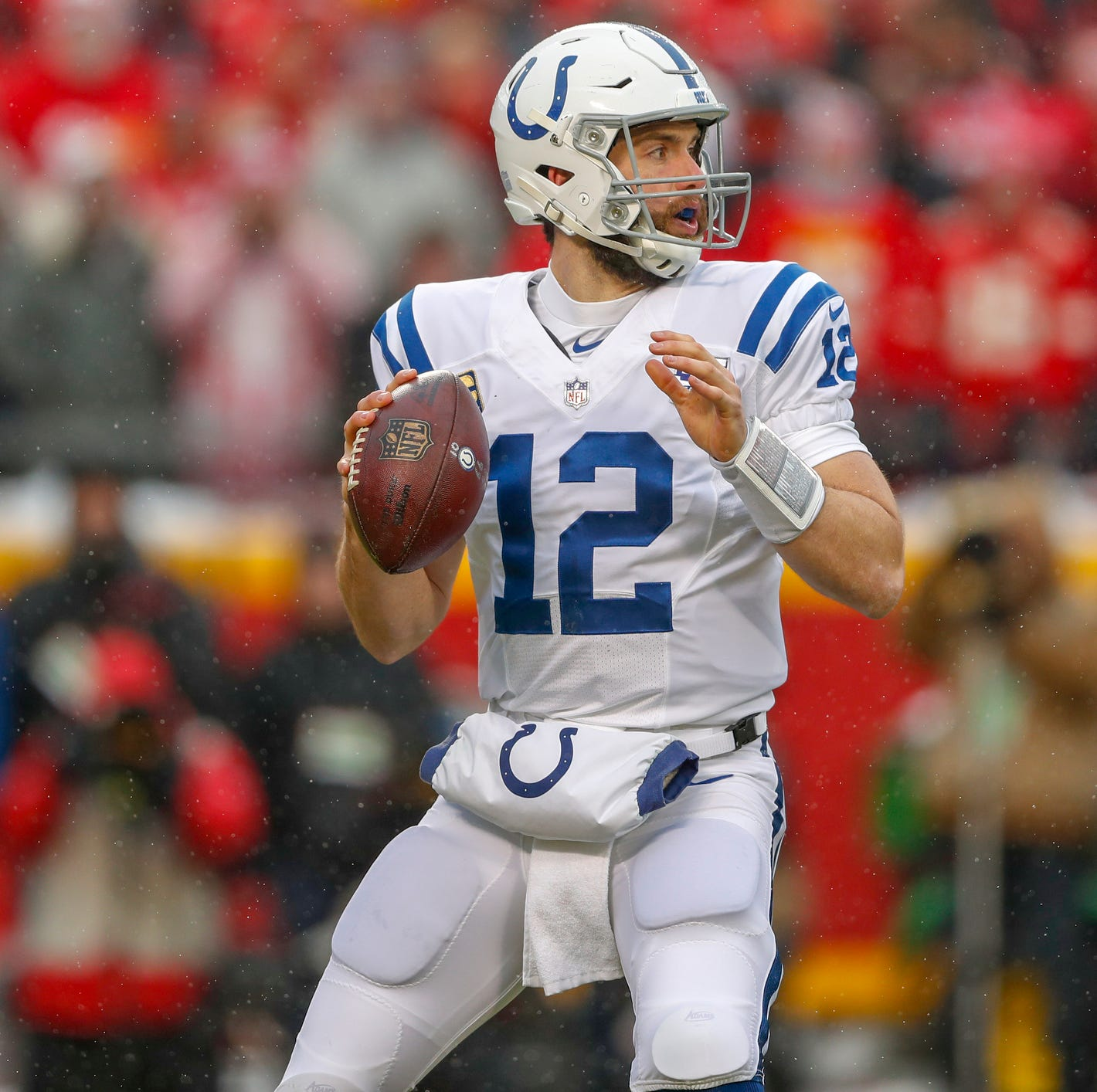 Andrew Luck named to Pro Bowl in place of Philip Rivers