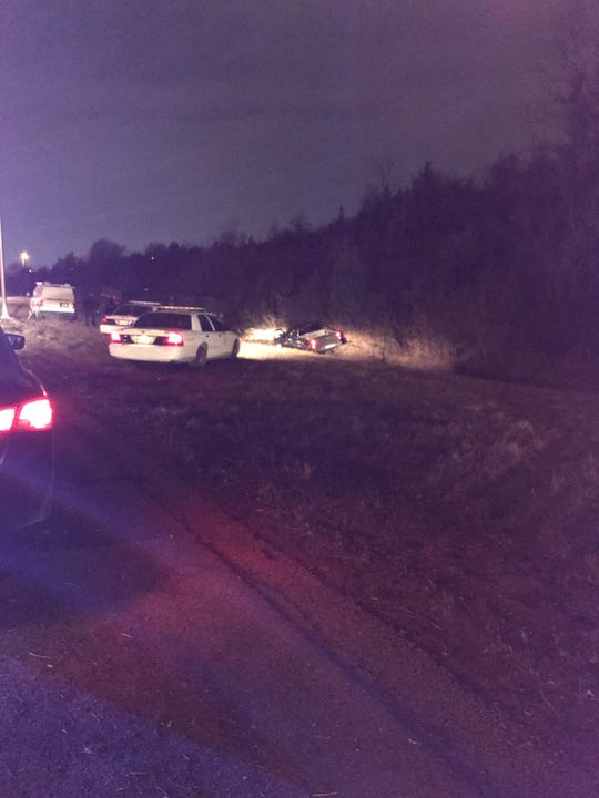 IMPD says a driver took his own life after leading officers on a chase that ended on I-65 North near the 38th Street exit.