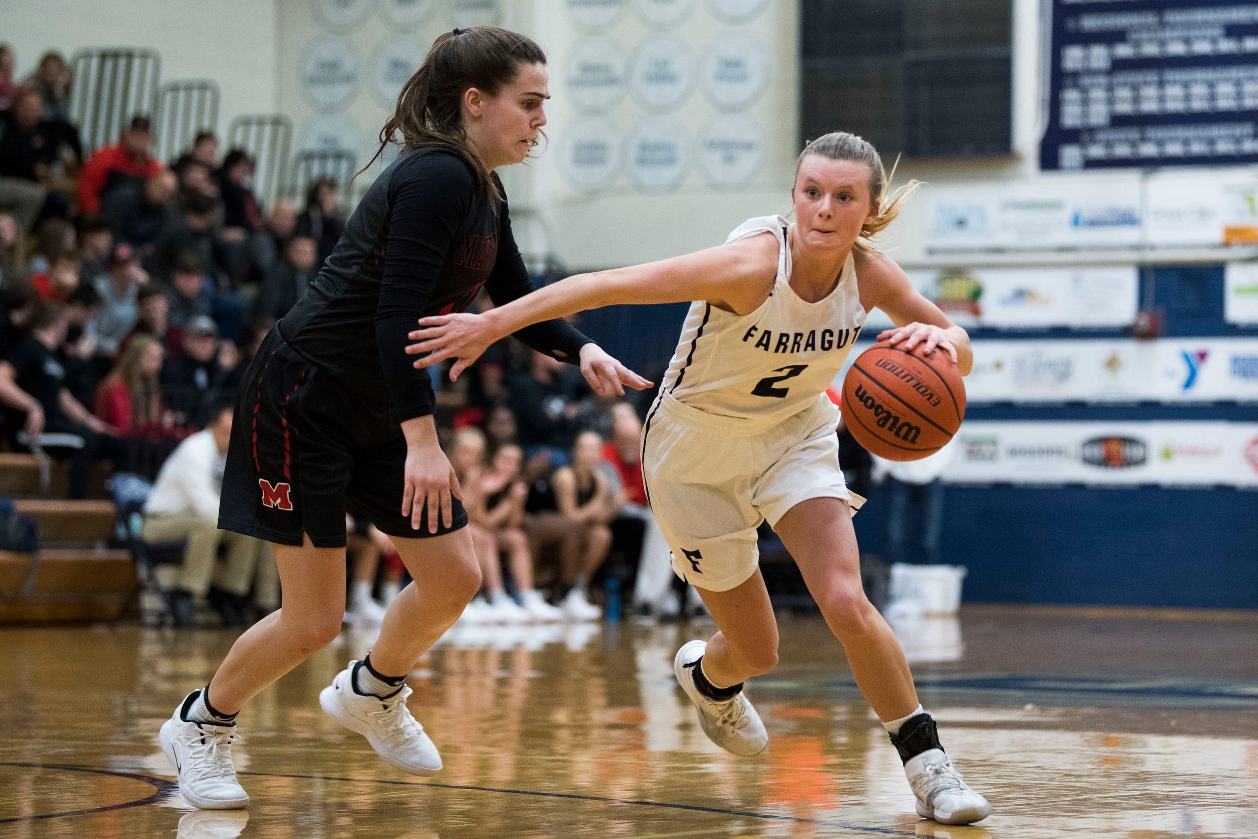 Farragut basketball takes on Maryville