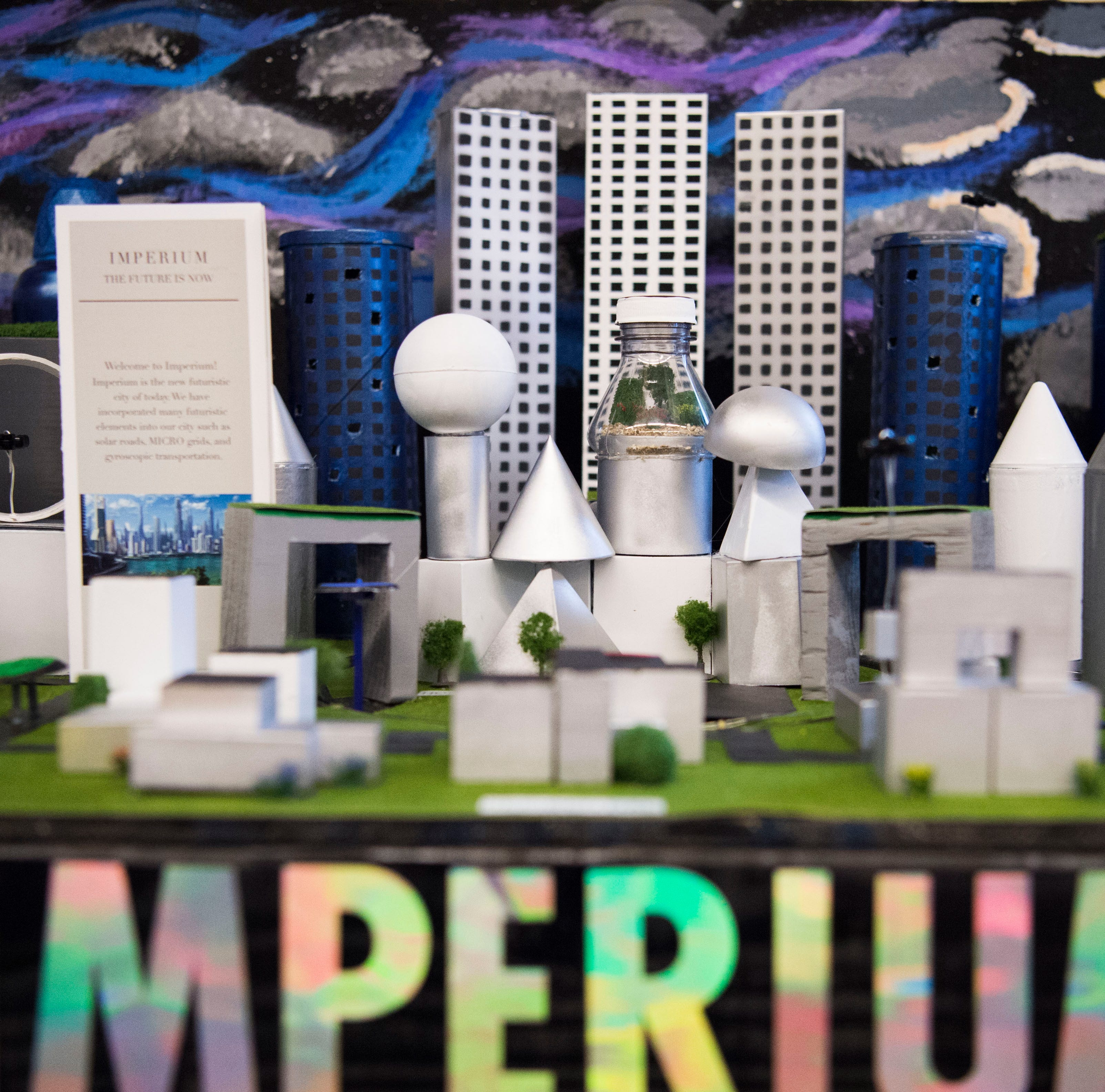 What could cities look like in 100 years? These TN middle school students have an idea