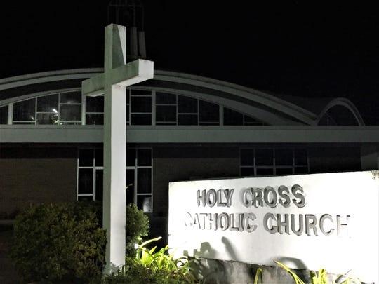 Holy Cross Catholic Church in Morgan City, Louisiana. Jan. 11, 2019.