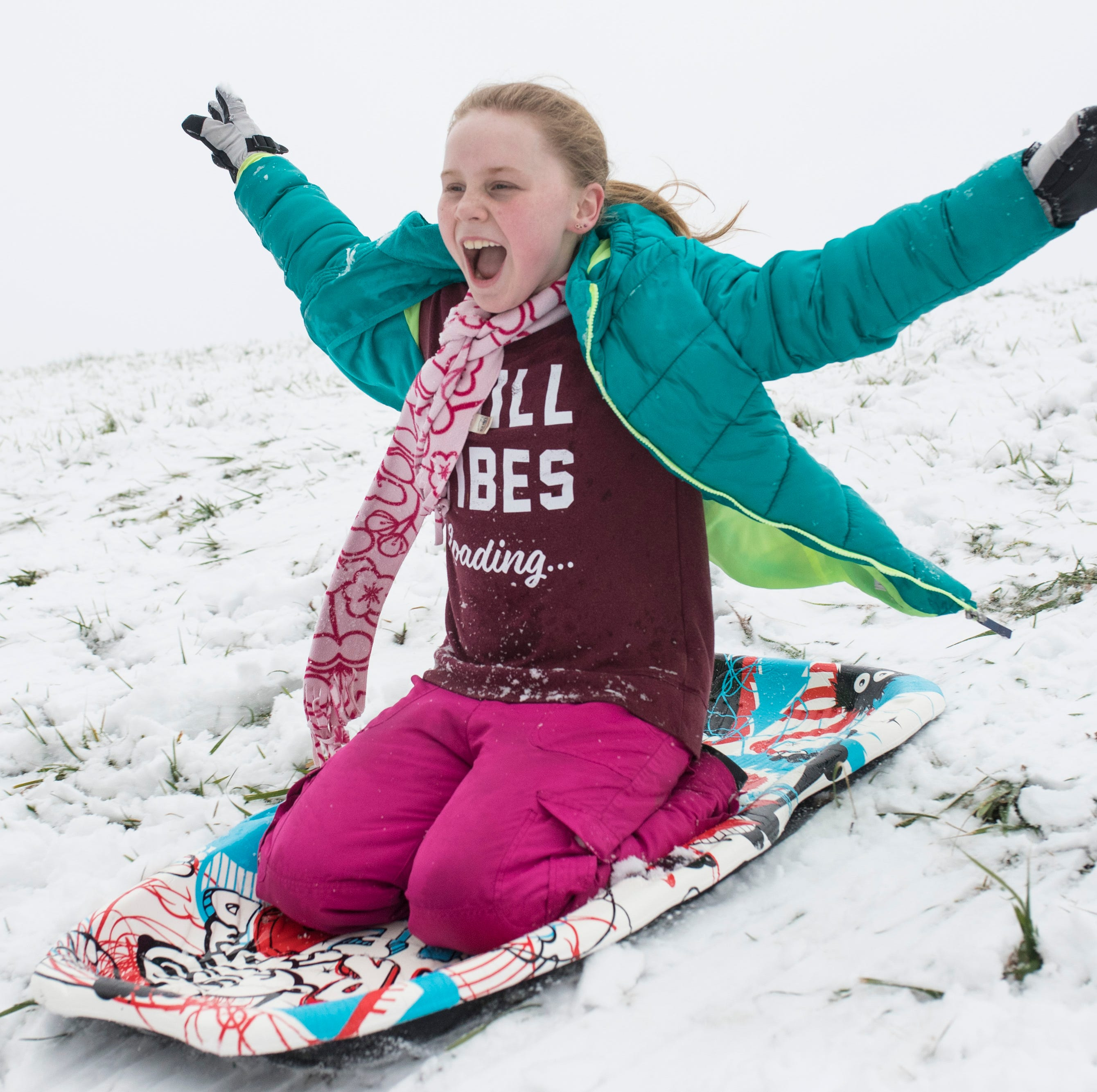 Here's where you can go sledding in the Louisville area on Saturday