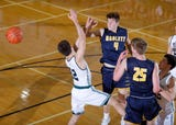 See video highlights from Williamston's CAAC Red win over Haslett on January 11, 2019, and hear a remark from coach Tom Lewis.