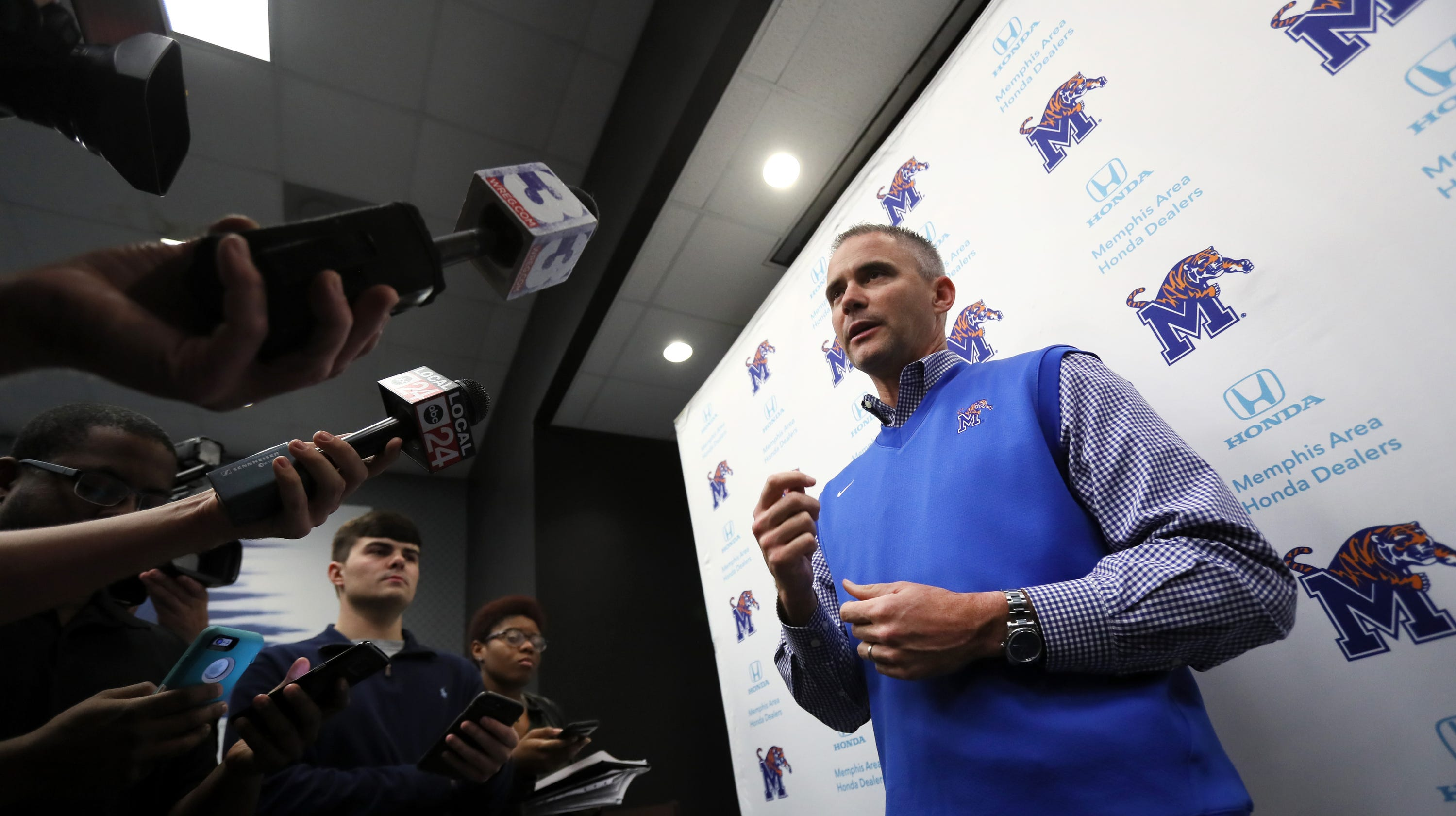 Memphis Football Coach Introduction Press Conference