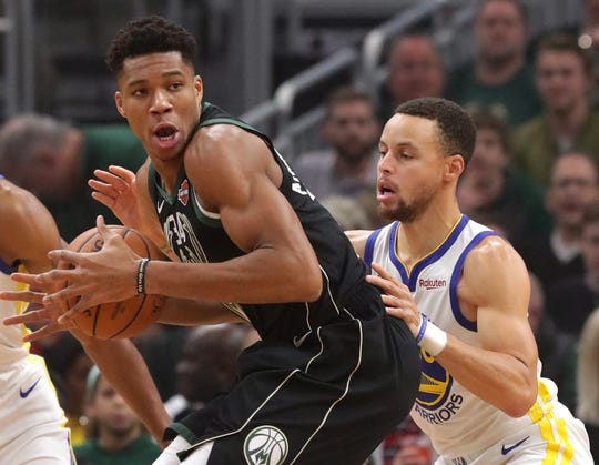 Giannis Antetokounmpo has been the Bucks' MVP and perhaps the league's, and the team's victory over Golden State has been the biggest highlight of the first half.