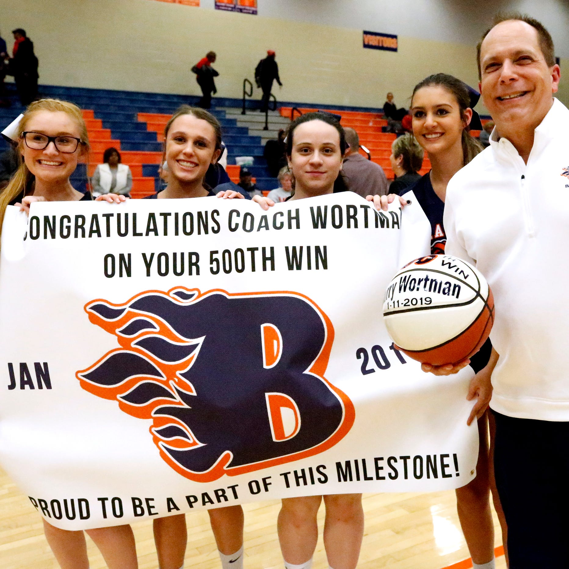 Blackman's Barry Wortman earns 500th career victory