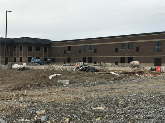 Gladeville Middle School is under construction on Stewarts Ferry Pike in Wilson County.