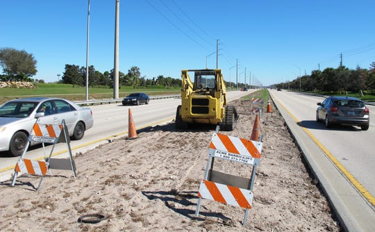 A 5-mile section of the Immokalee Road median will be landscaped this spring from Collier Boulevard east to Wilson Boulevard.