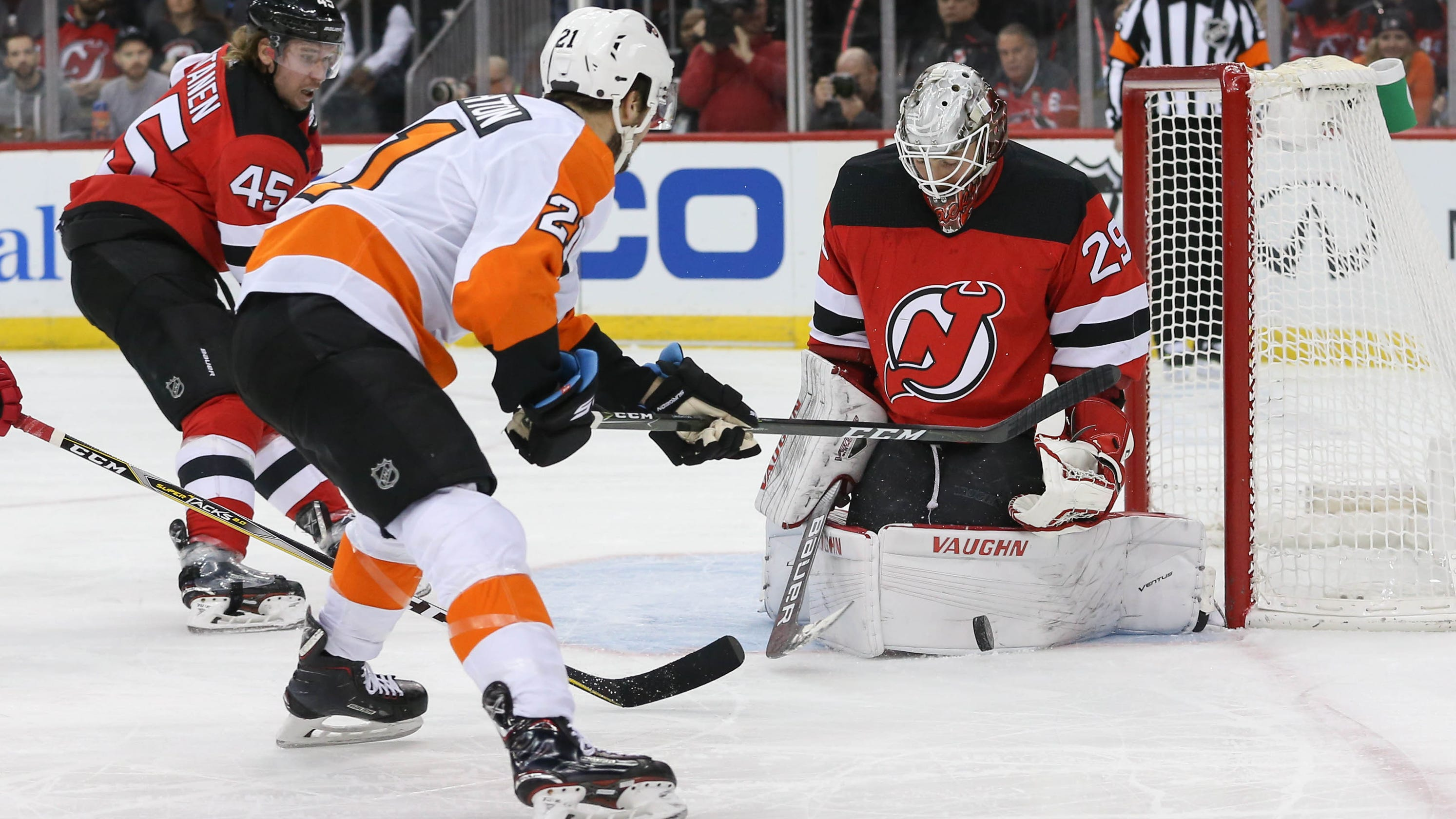 NJ Devils  Mackenzie Blackwood bests Flyers  Carter Hart in rookie goalie  battle e0e0c2b90