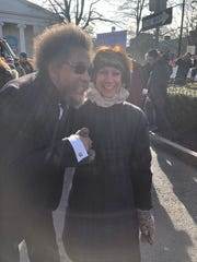 Cornel West, Civil Rights activist, author at Princeton rally to protest white supremacists, Jan. 12, 2019