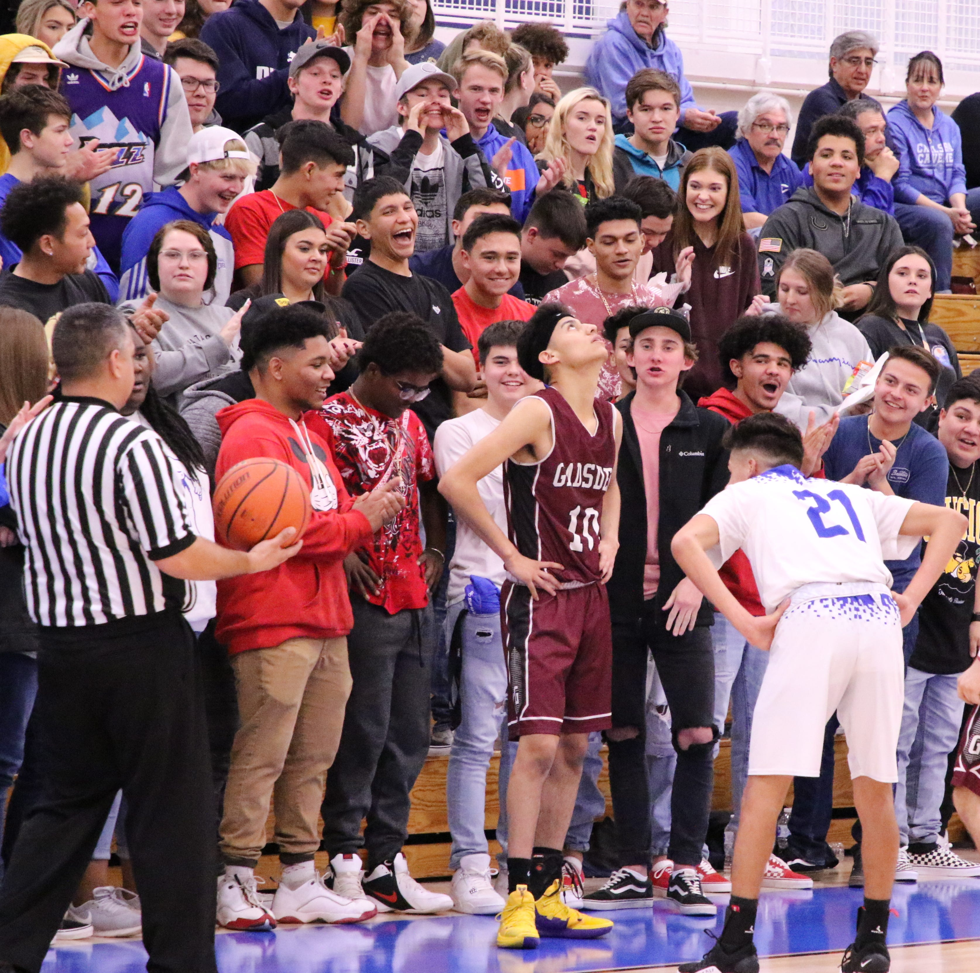 Carlsbad basketball games see seating restrictions due to bad student behavior