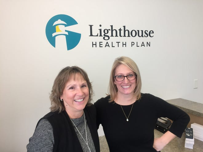 CEO Christie Spencer and Chief Compliance Officer Alicia Skolrood lead Lighthouse Health Plan, a doctor-led Medicaid health plan based in the Florida Panhandle.