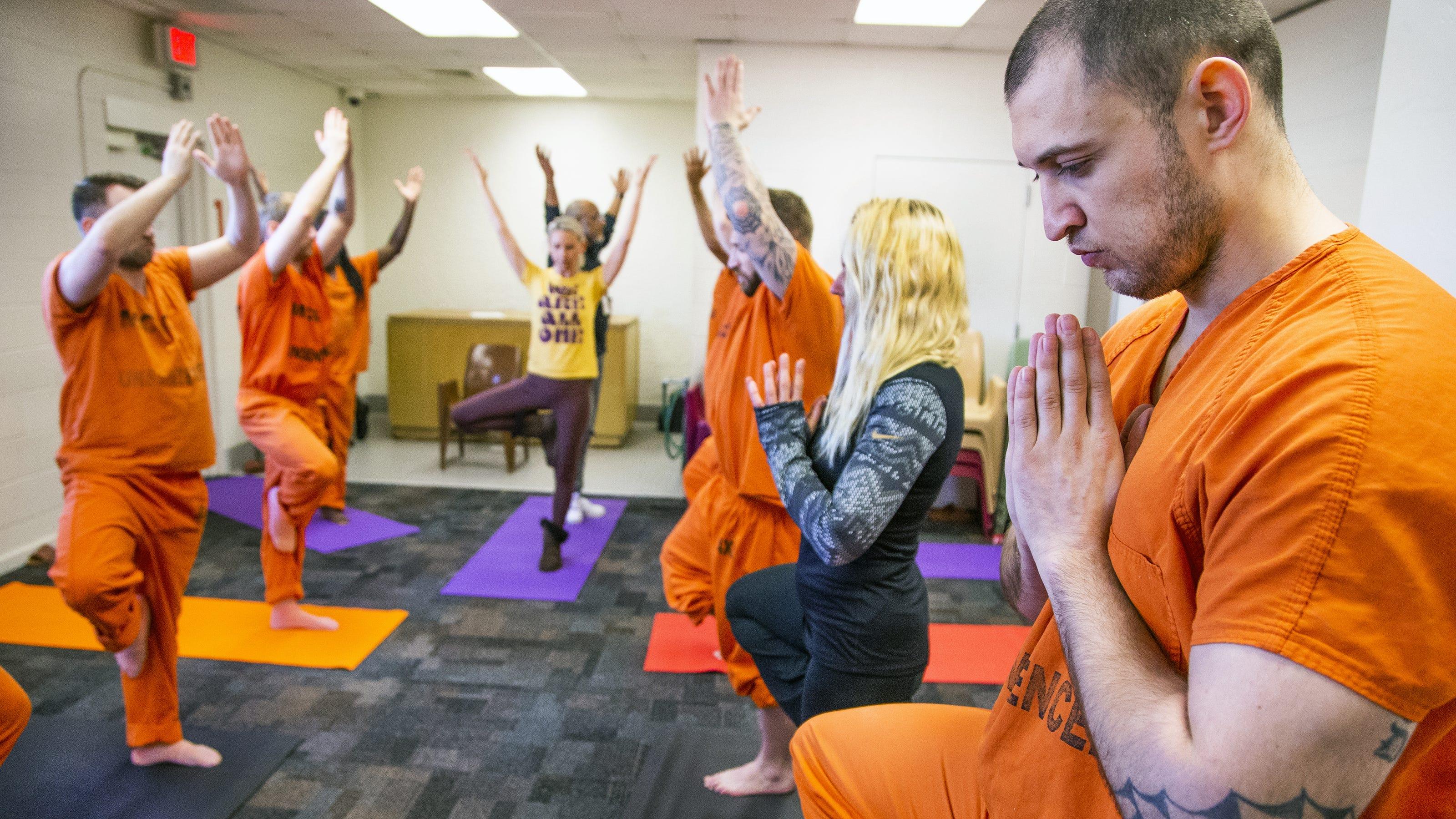 Incarcerated Arizona Veteran Use Yoga To Prepare For Life After Jail