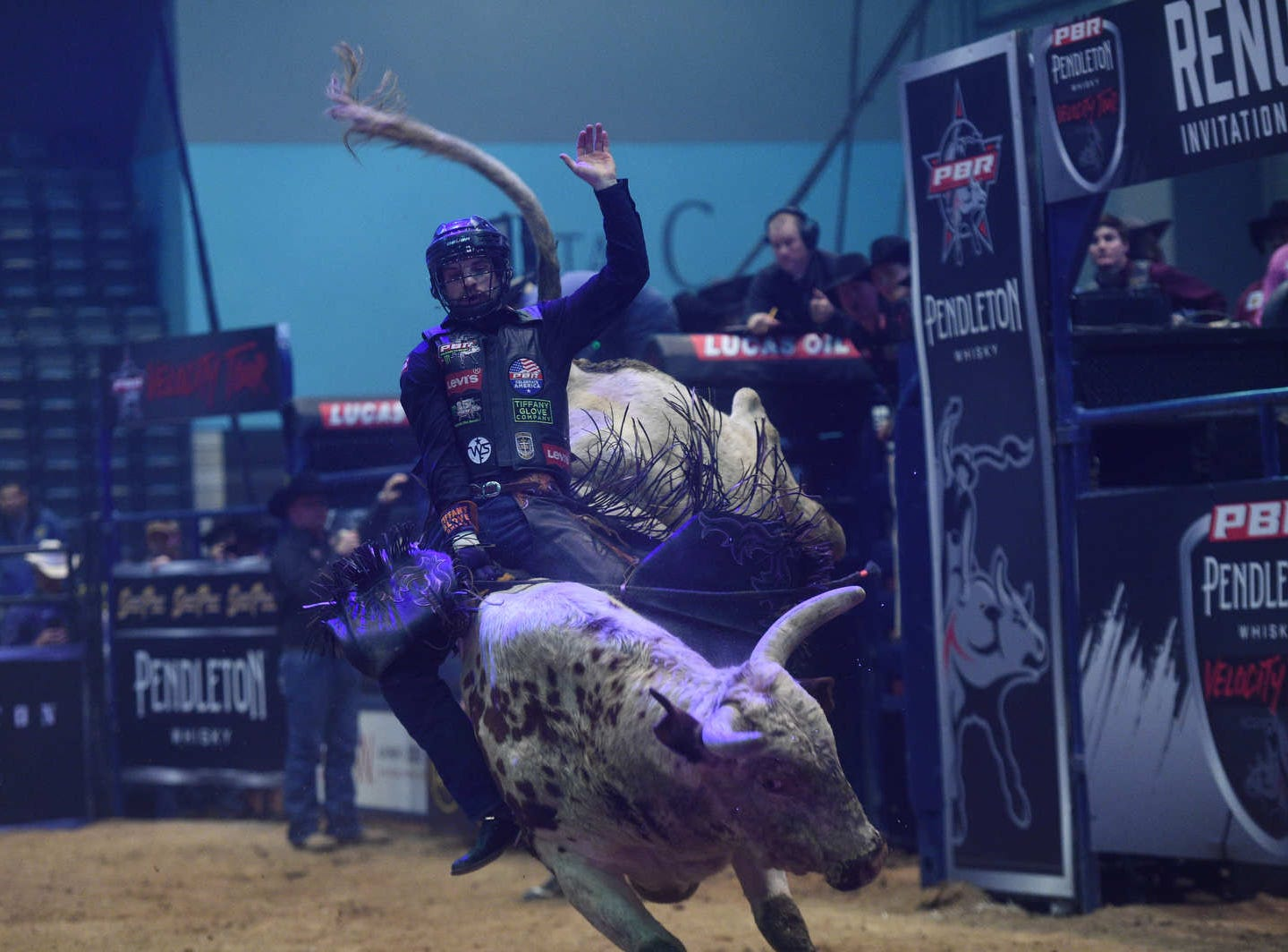The PBR Velocity Tour at the Reno Events Center on Jan. 11, 2019.