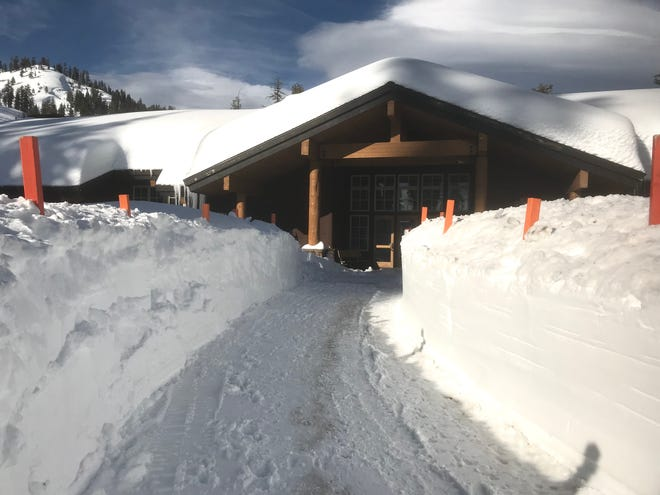 The Kohm Yah-mah-nee Visitor Center on the southwest side of Lassen Volcanic National Park is closed during the federal government's partial shutdown but the park's entrances are open.