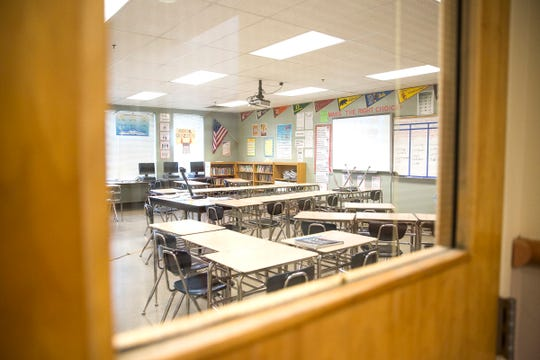 Adam Stephens Middle School in Salem on Thursday, Jan. 10, 2019.