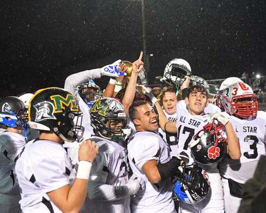 Last year's rain-soaked Central Coast All Star Game brought out some of the best local talent on the football field. The game returns to Rabobank Stadium Friday night.