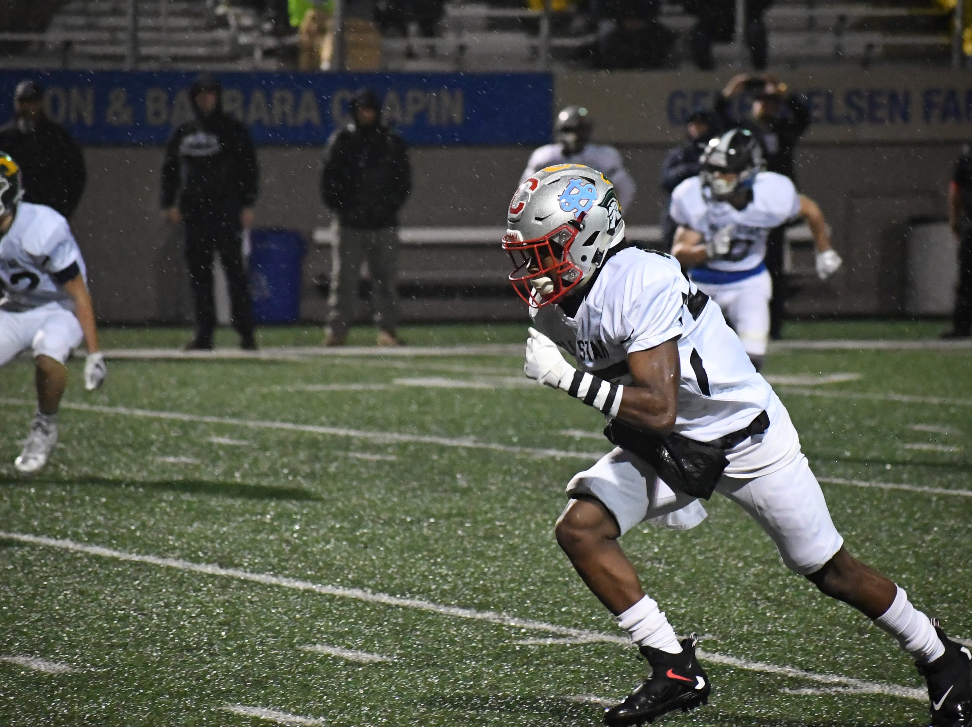 Action from Friday night's Central Coast All Star Game.