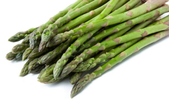 Asparagus can tolerate our salty, alkaline soil and water.