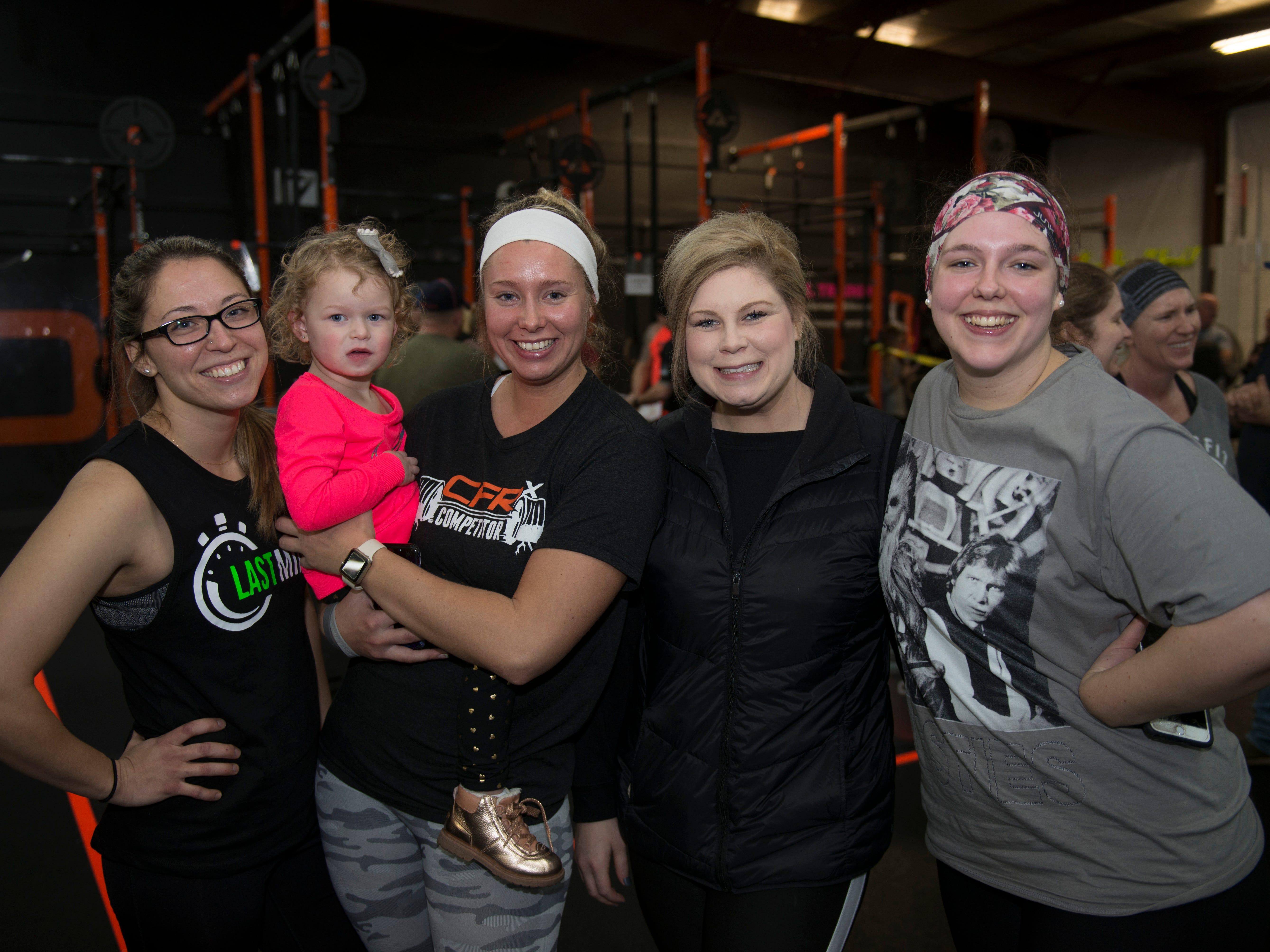 Ashley, Ashley, Ashley, Ashley and Nora