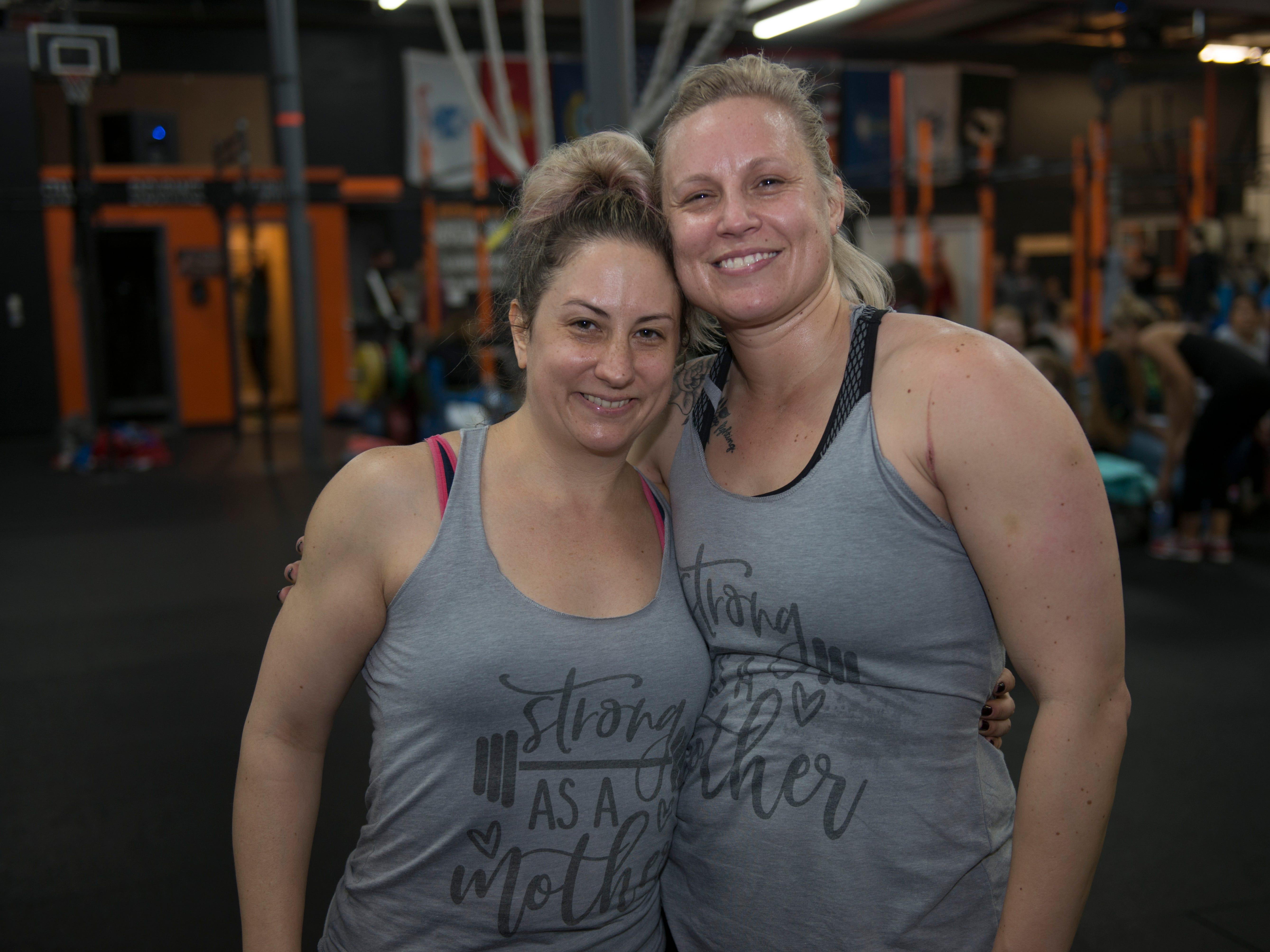 Erika Gifford and Samantha Ruzicka