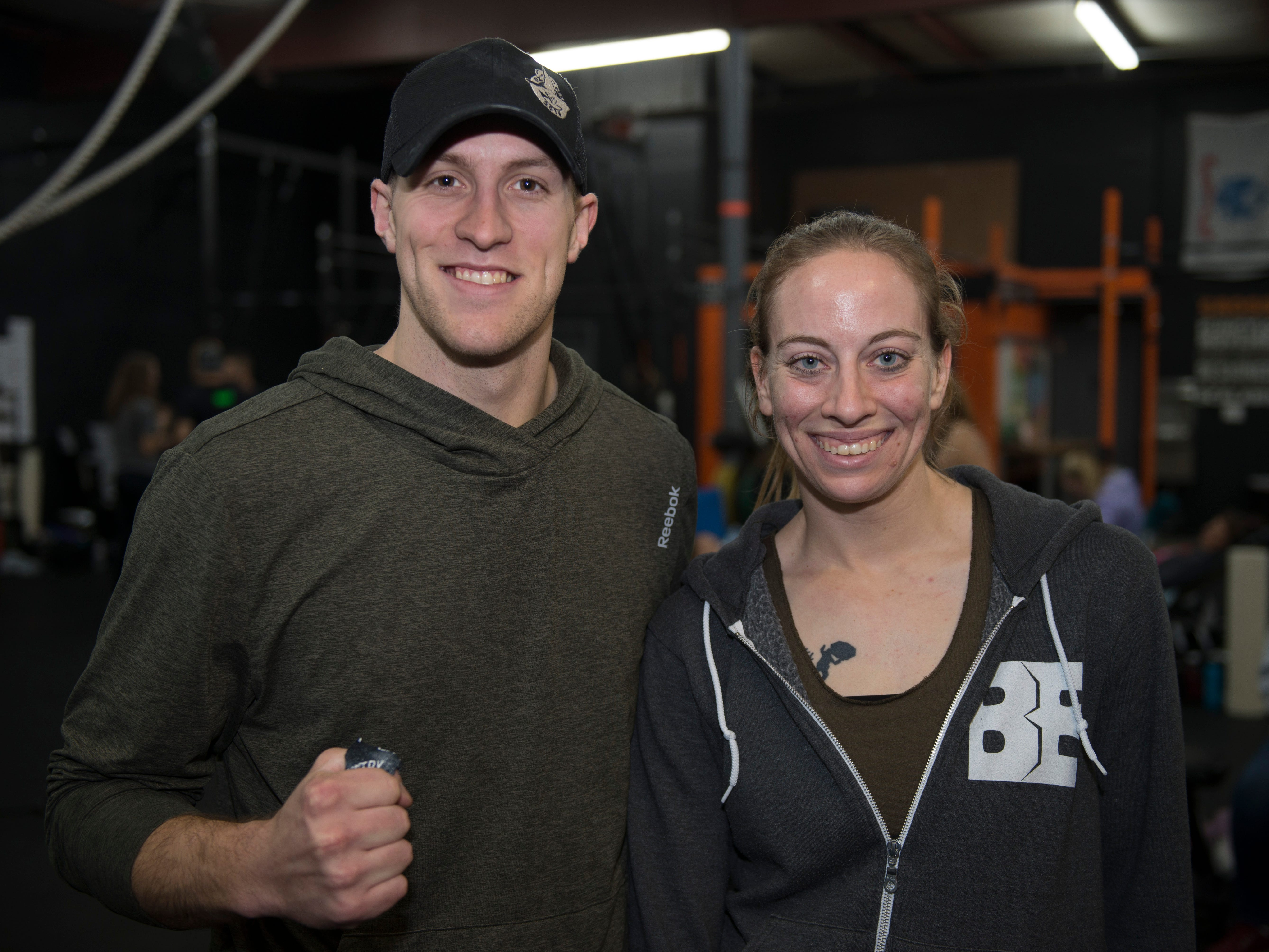 Kari Williams and Zane Schmeeckle