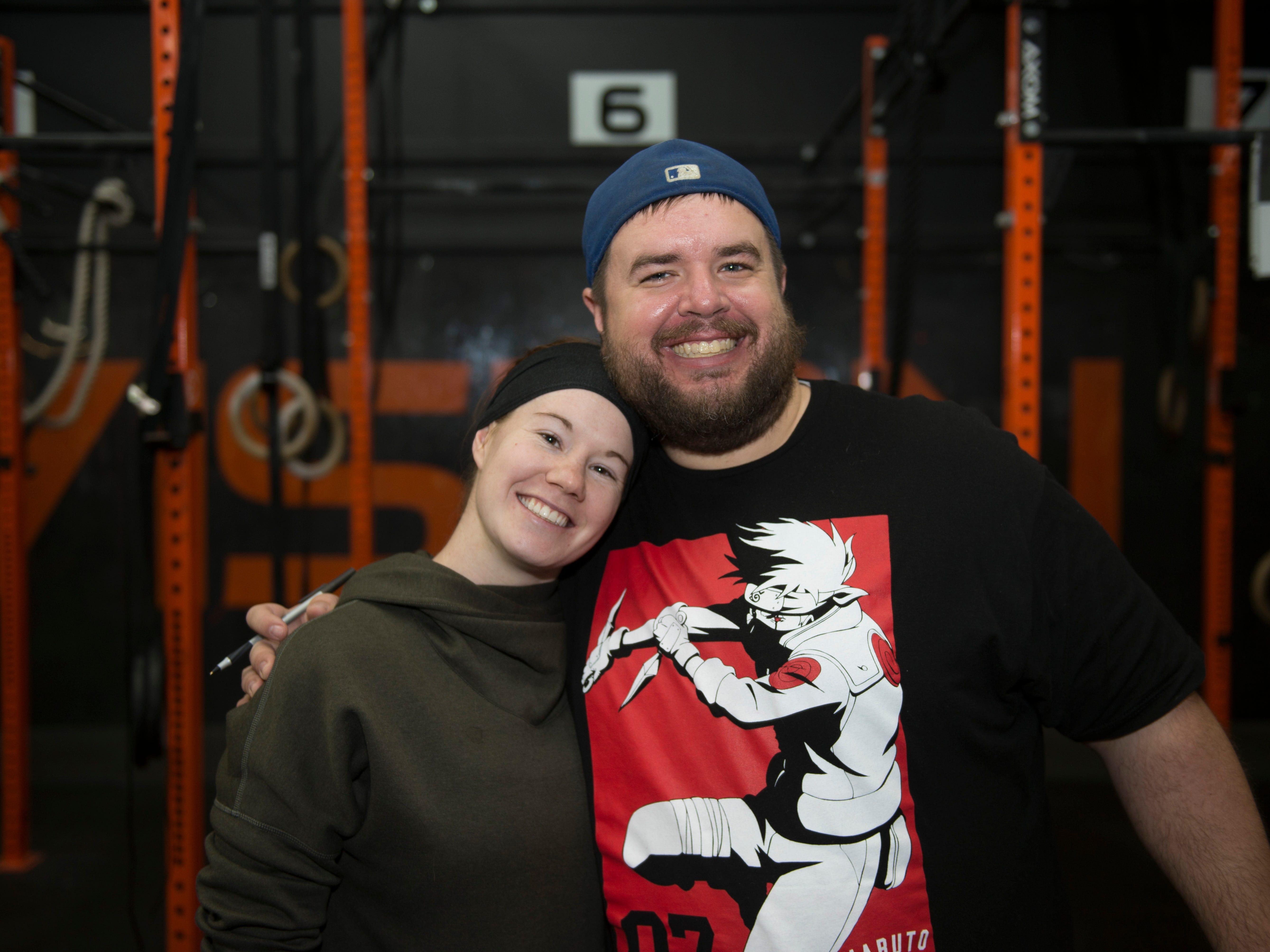 Sara Keatts and Chris Crosby