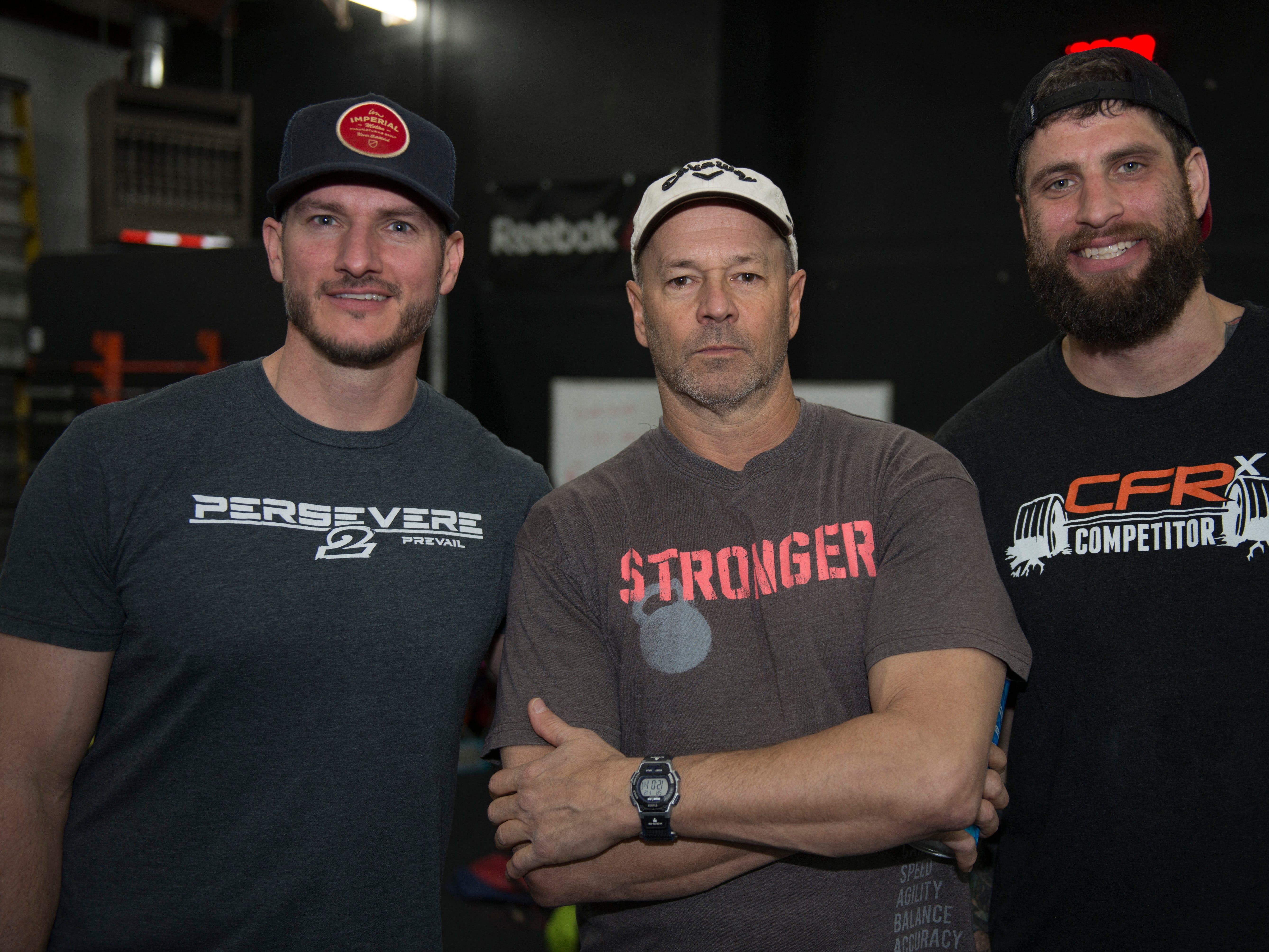 Andy Hodges, Bryan Buschhorn, Michael Battle
