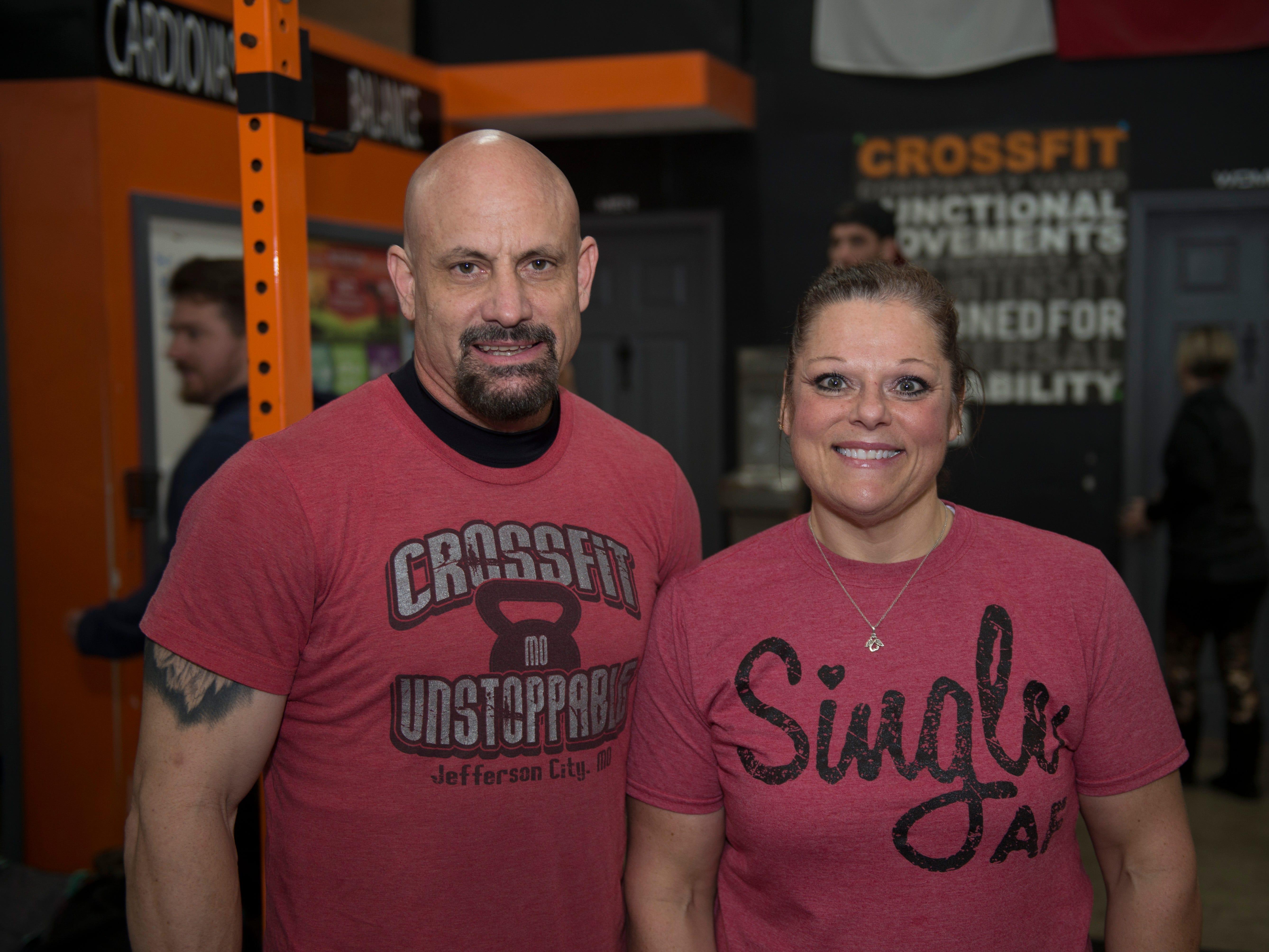 Gina Henley and Shawn Bruce