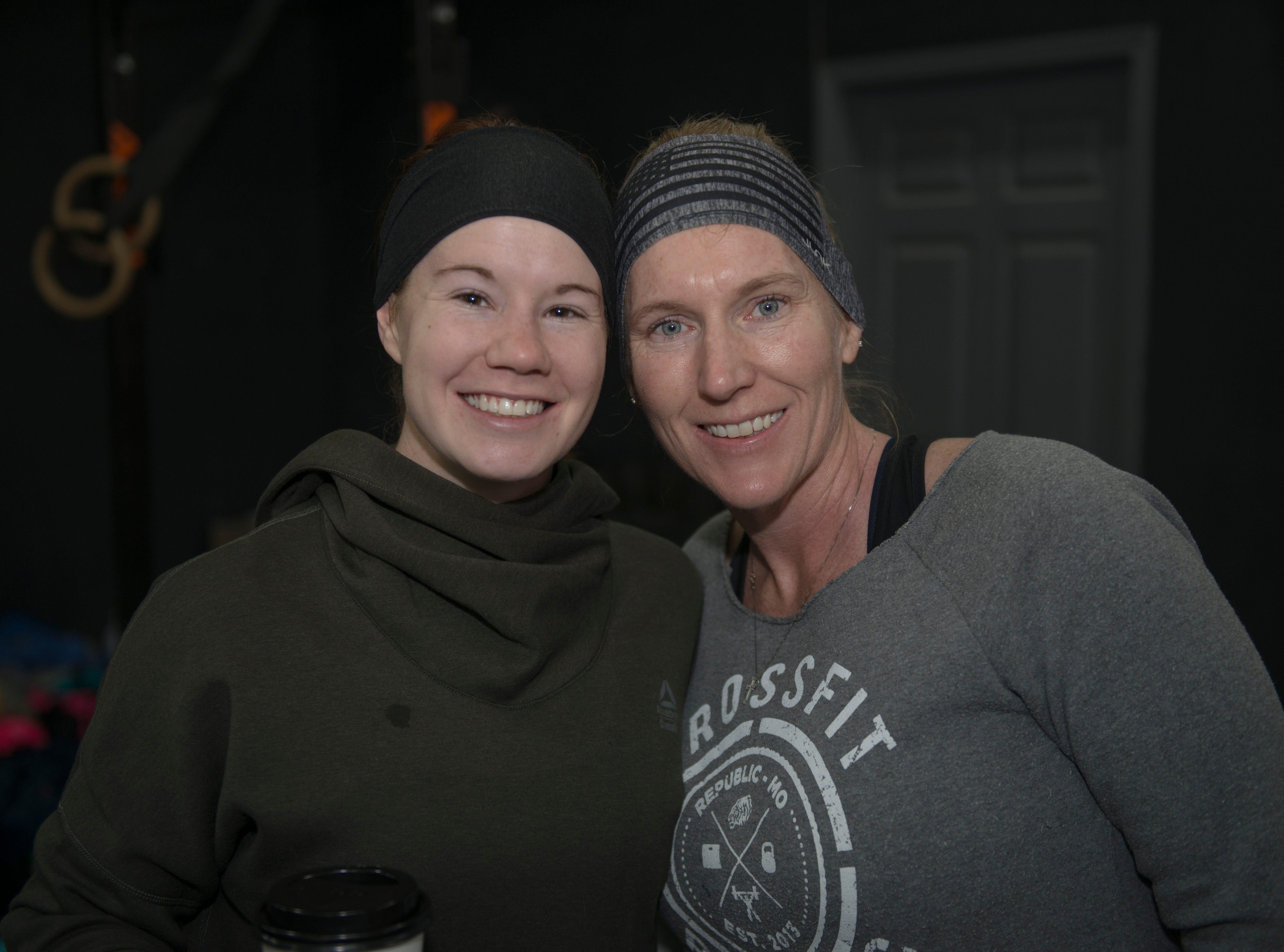 Sara Keatts and Tara Norman