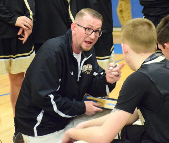 By guiding his team to a 10-win season, Buffalo Gap's Chad Ward was named The News Leader's All-City/County Coach of the Year.