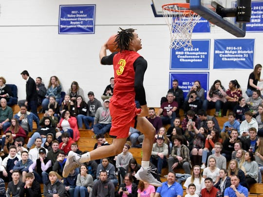 Oak Hill's Cole Anthony will play his college ball at the University of North Carolina.