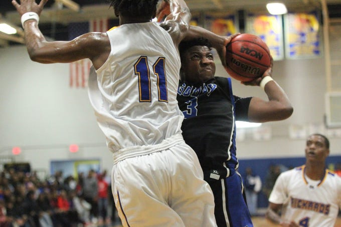 Rickards beat Godby 67-57 at home on Jan. 11, 2019.