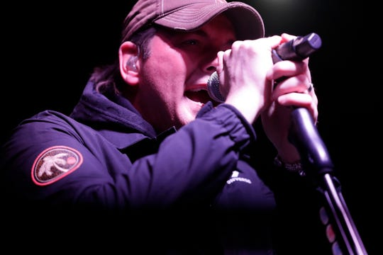 The Junior League of Tallahassee hosted the first annual Sunshine State Ball at the Tucker Civic Center, Friday, Jan. 11, 2019. Country singer, Rodney Atkins, performs as the headlining act.