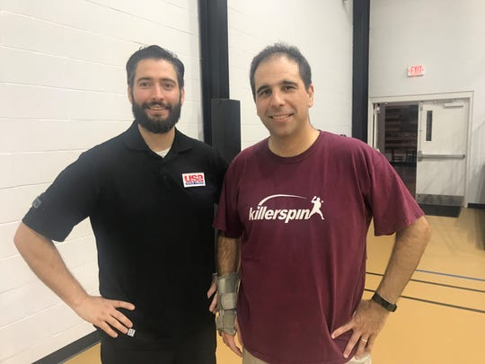 Tallahassee Table Tennis co-founders/coaches Logan Zimmerman (left) and Willy  Leparulo are leading the drive for the sport in the city.