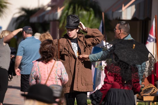The fourth annual Treasure Coast History Festival is 9 a.m. to 3 p.m. Saturday along South Second Street in downtown Fort Pierce. The free festival features historical re-enactors, historical trolley tours, ghost tours, local authors, an Old Florida fish fry and sessions on historical topics.