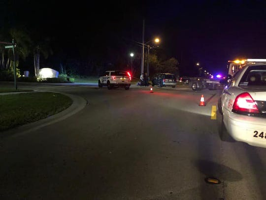 A motorcyclist died after colliding with an SUV Friday night, Jan. 11, 2019, at Southwest Darwin Boulevard and Southwest Panther Trace, Port St. Lucie police said.
