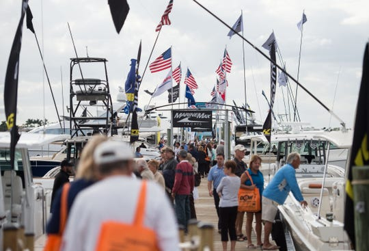 The 46th annual Stuart Boat Show is 10 a.m. to 6 p.m. Friday and Saturday and 10 a.m. to 5 p.m. Sunday on Dixie Highway north of the Old Roosevelt Bridge and in the water across three marinas located on the shore of the St. Lucie River.
