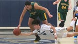Highlights of UCLA-bound Jaime Jaquez and USC-bound Drake London matching up as Moorpark visited Camarillo in Coastal Canyon League play.