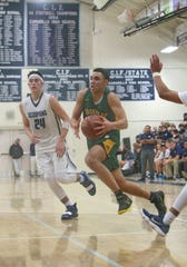 After starring as a receiver in his senior season at Moorpark High, Drake London made a smooth transition to basketball and had third-best single-season scoring output in Ventura County history.