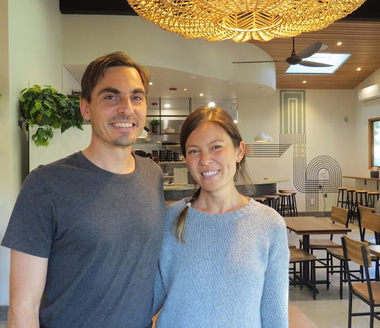 Ben and Marisa DiChiacchio are the owners of Hip Vegan in Ojai. The restaurant reopened this week at a new location.