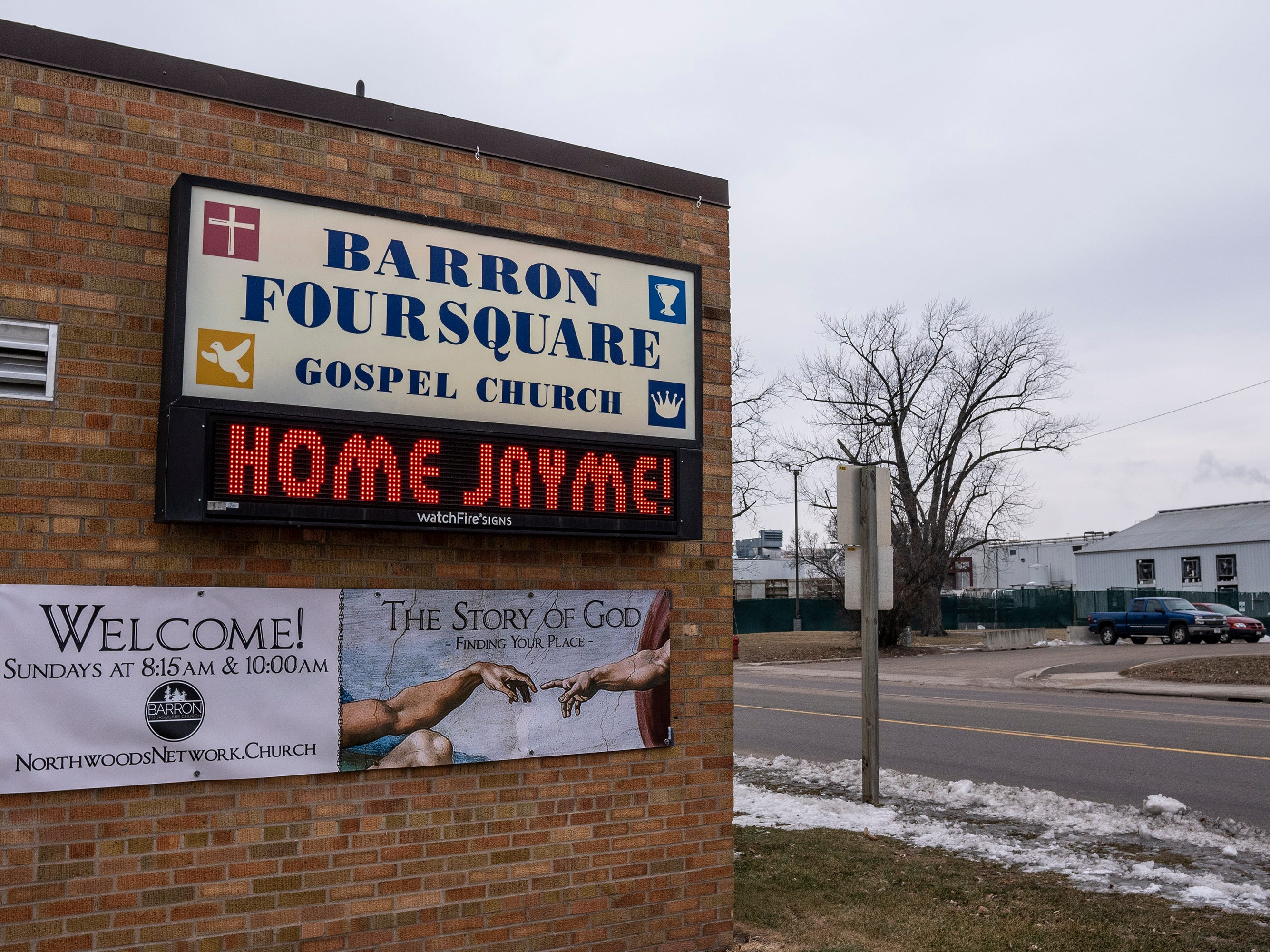 Another sign for Jayme Closs.