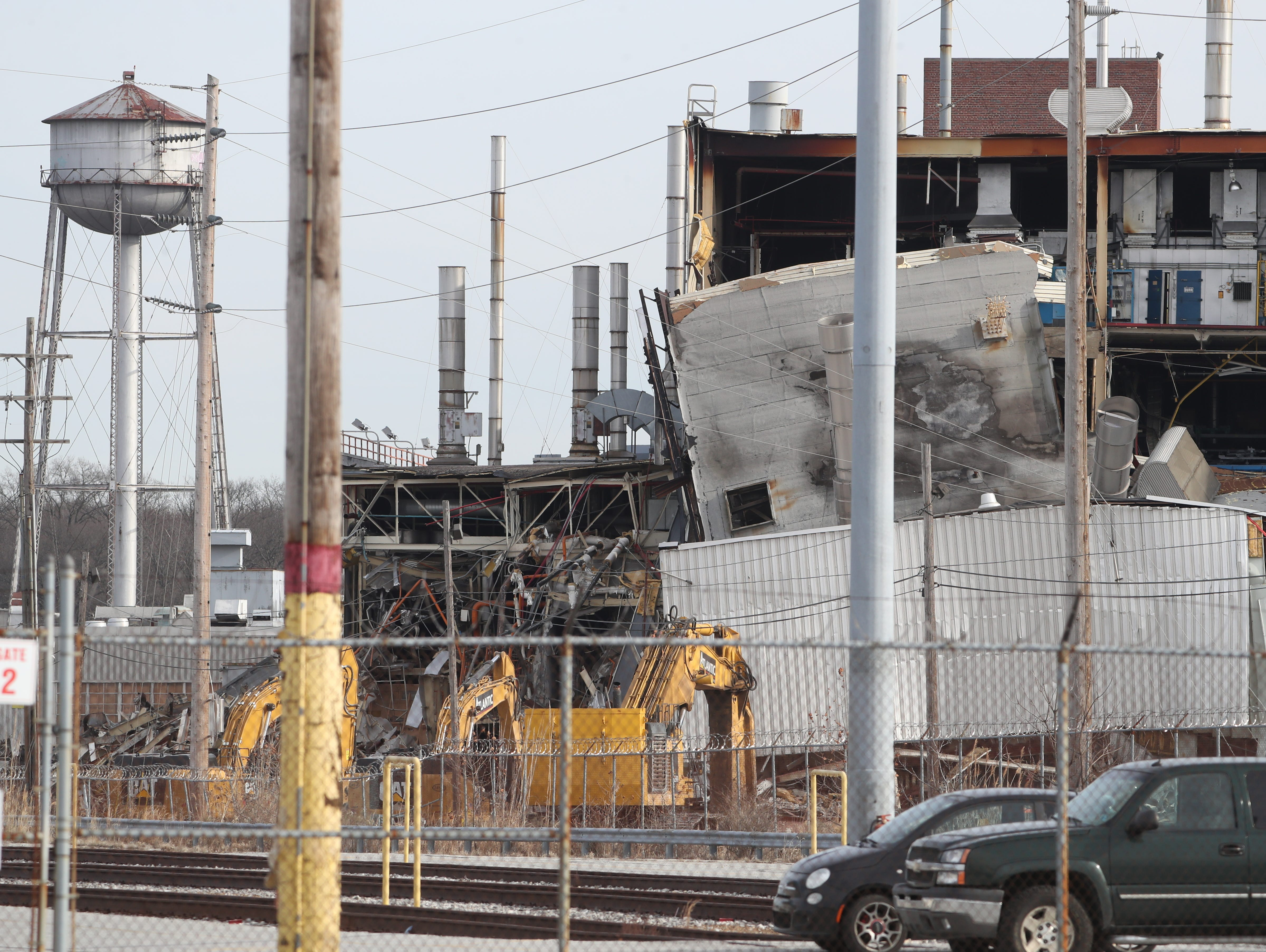 A foreman was killed at the former Boxwood Road auto assembly plant in a demolition accident Friday.