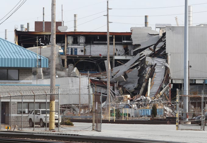 A Foreman Was Killed At The Former Boxwood Road Auto Embly Plant In Demolition Accident