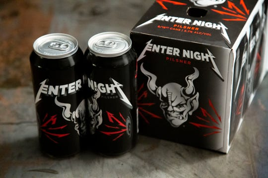 Metallica and Stone Brewing Co. have teamed up on a new beer, Enter Night, a hoppy-hefted pilsner, which is now hitting the national stage.