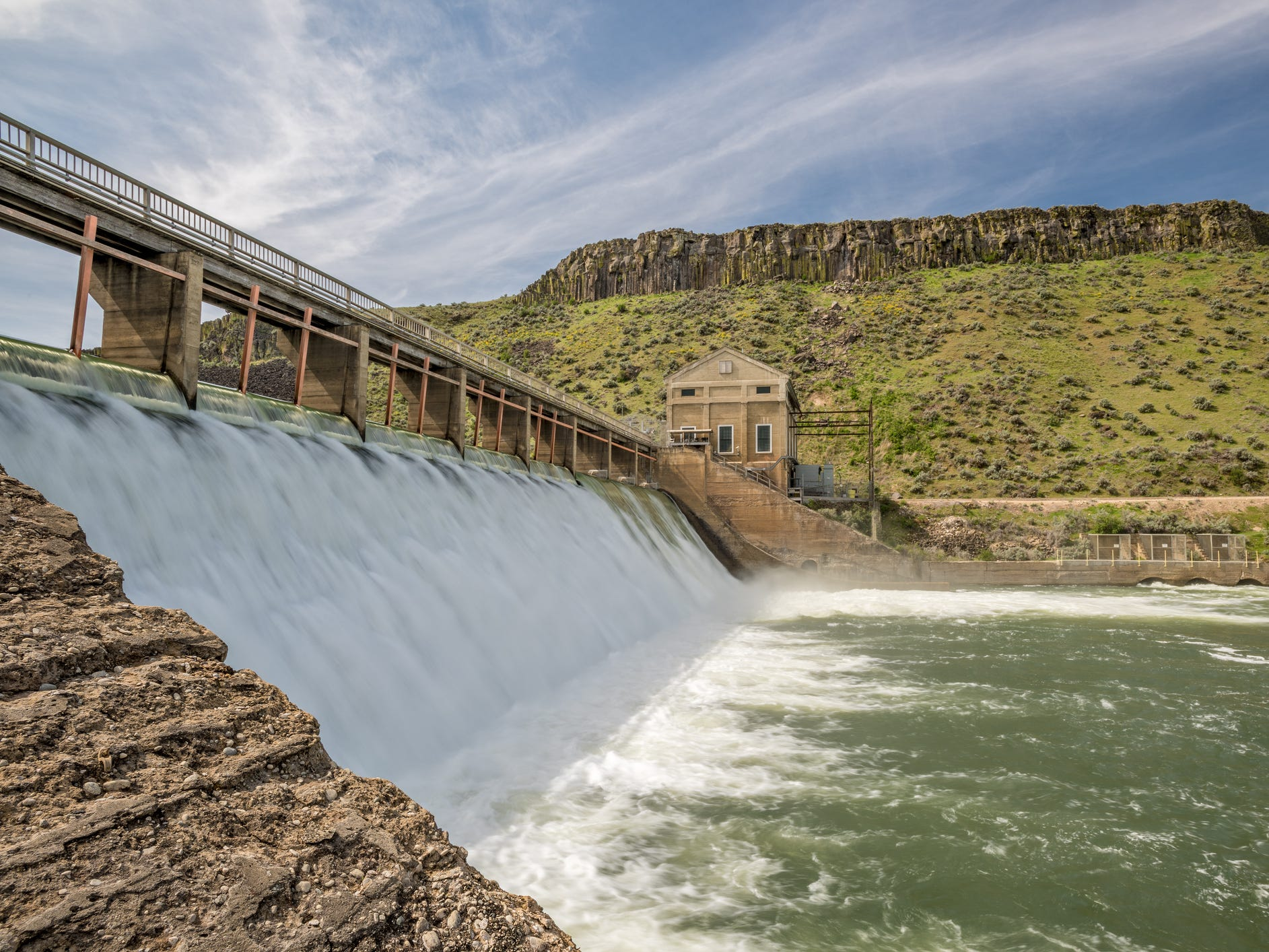 Boise River Diversion Dam in Idaho.