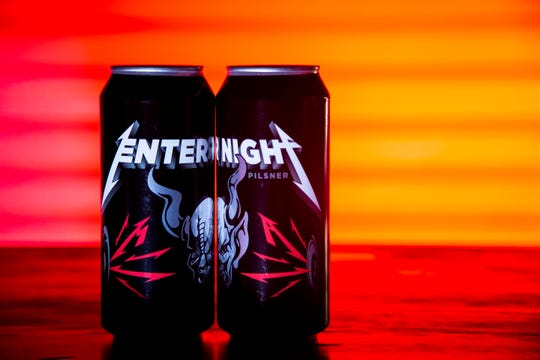 Metallica and Stone Brewing Co. have teamed up on a new beer, Enter Night, a pilsner now hitting the national stage.